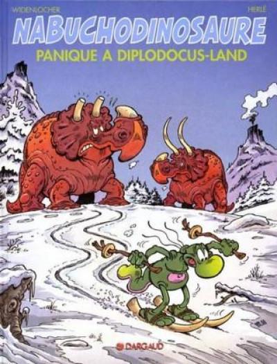 Couverture Nab tome 7 - panique à diplodocus-land