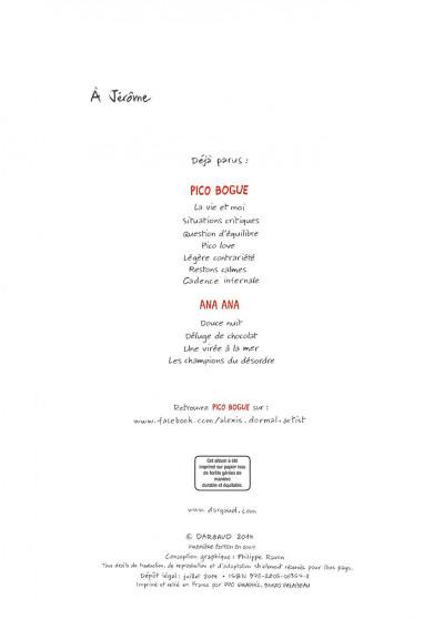 Page 2 Pico bogue tome 3 - question d'équilibre