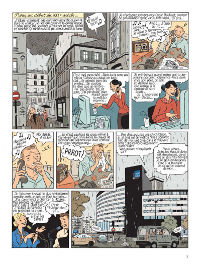 Page 1 Le perroquet des batignolles tome 1
