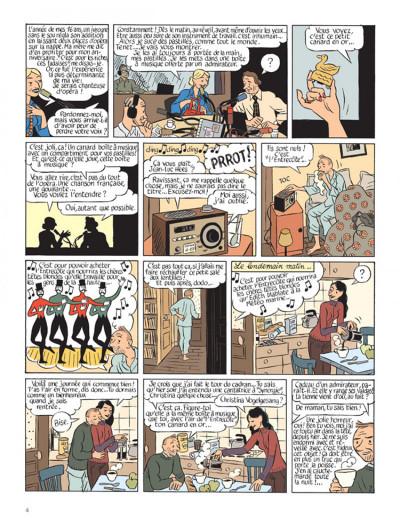 Page 2 Le perroquet des batignolles tome 1