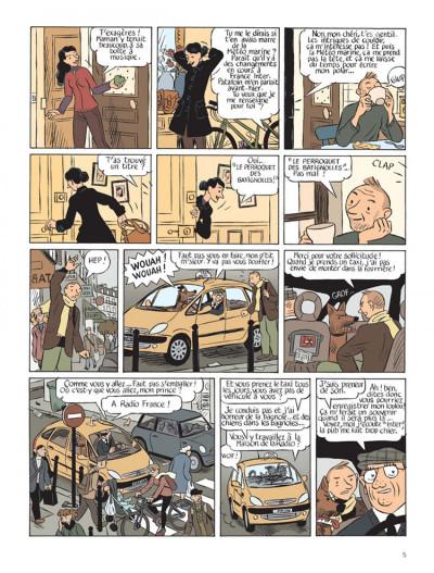 Page 3 Le perroquet des batignolles tome 1