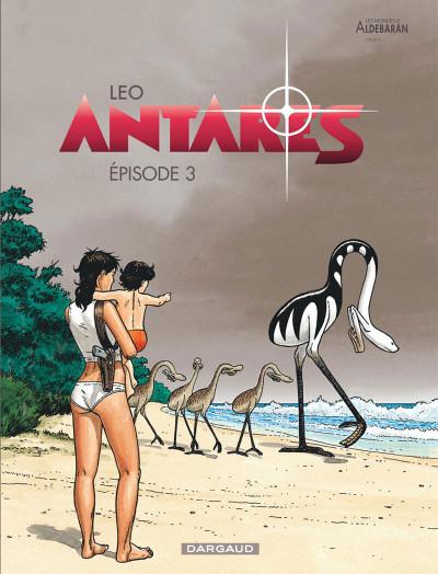 Couverture Antarès tome 3