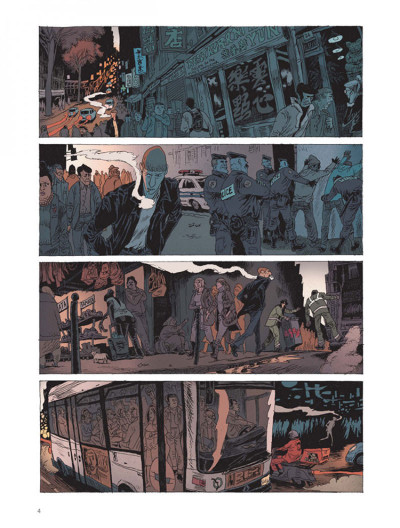 Page 2 Belleville story tome 1 - avant minuit