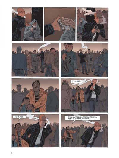 Page 4 Belleville story tome 1 - avant minuit