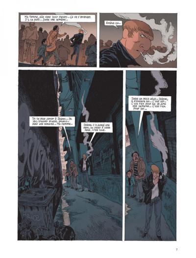 Page 5 Belleville story tome 1 - avant minuit