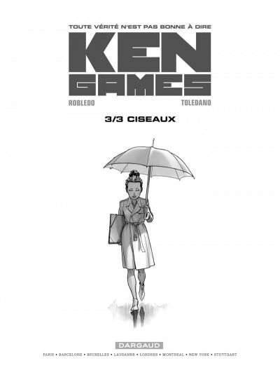 Page 1 Ken games tome 3 - ciseaux