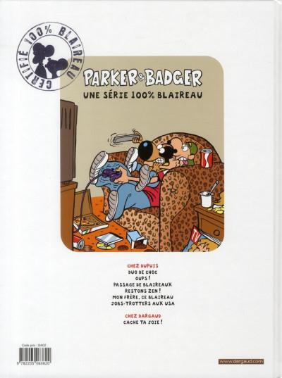 Dos Parker et badger tome 7 - cache ta joie !