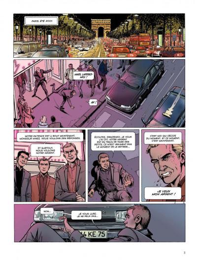 Page 1 Dantès tome 4 - pour solde de tout compte