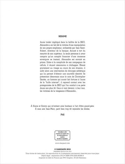 Page 2 Dantès tome 4 - pour solde de tout compte