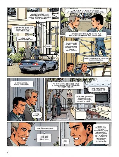 Page 6 Dantès tome 4 - pour solde de tout compte