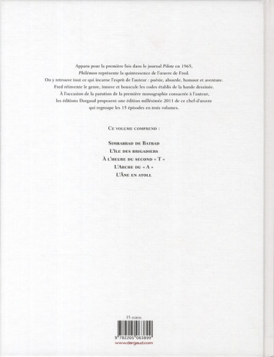 Dos Philémon - intégrale tome 2