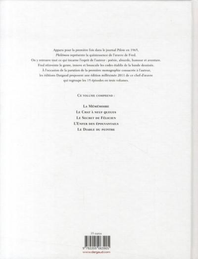 Dos Philémon - intégrale tome 3