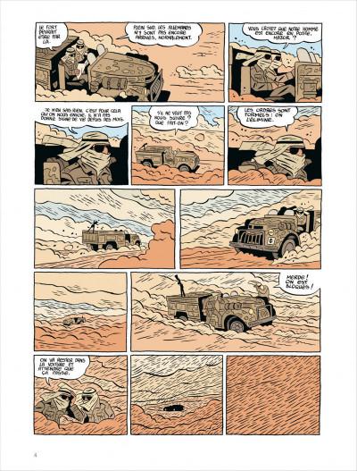 Page 4 Commando colonial tome 3 - baroud à Marrakech