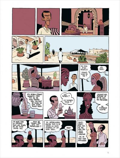 Page 5 Commando colonial tome 3 - baroud à Marrakech