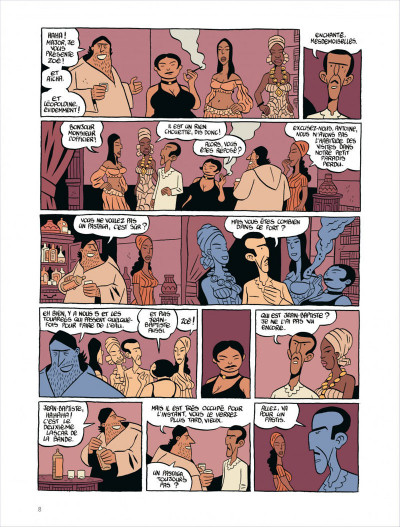 Page 8 Commando colonial tome 3 - baroud à Marrakech