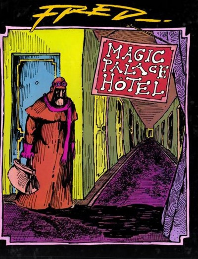 Couverture magic palace hôtel