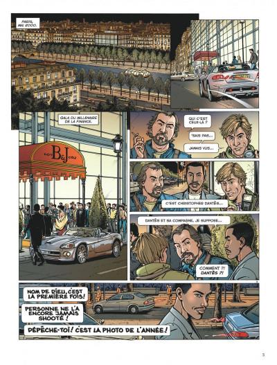 Page 3 Dantès tome 1 - la chute d'un trader