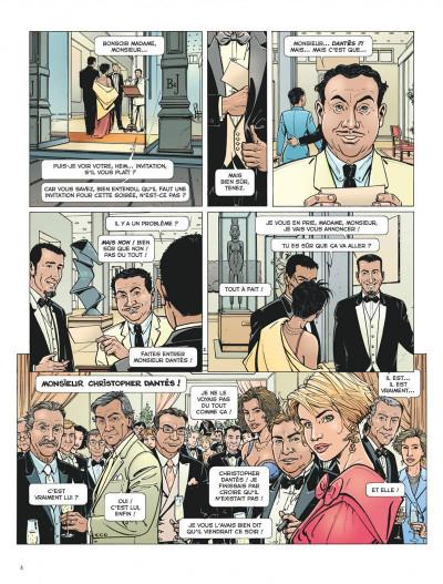 Page 4 Dantès tome 1 - la chute d'un trader