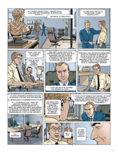 Page 7 Dantès tome 1 - la chute d'un trader