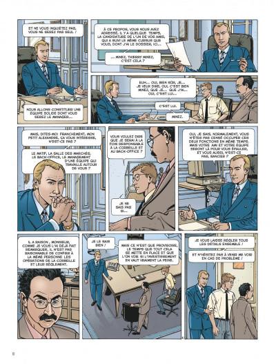 Page 8 Dantès tome 1 - la chute d'un trader
