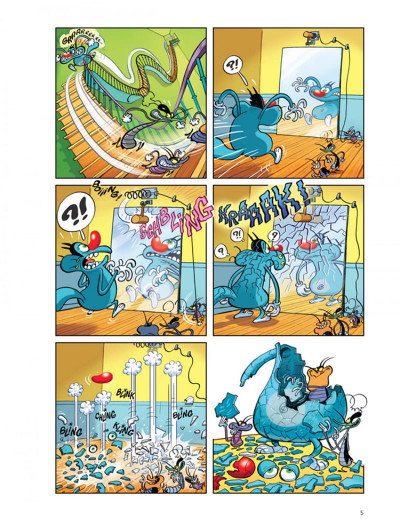 Page 4 Oggy et les cafards tome 1 - plouf, prouf, vrooo !