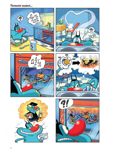 Page 5 Oggy et les cafards tome 1 - plouf, prouf, vrooo !