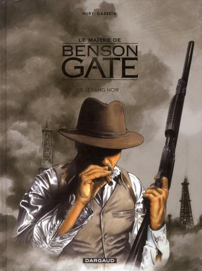 image de Le maître de Benson Gate tome 3 - le sang noir