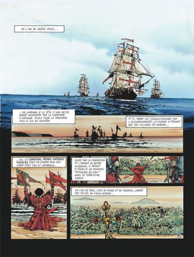 Page 3 Le maître de Benson Gate tome 4 - Quintana Roo