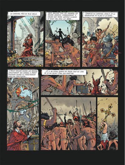 Page 6 Le maître de Benson Gate tome 4 - Quintana Roo