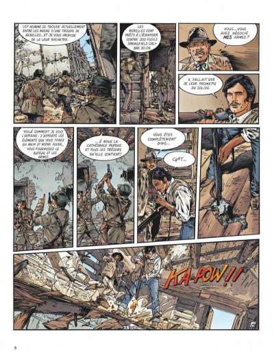 Page 8 Le maître de Benson Gate tome 4 - Quintana Roo