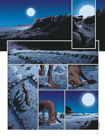 Page 3 le crochet à nuages ; une enquête au pays dogon