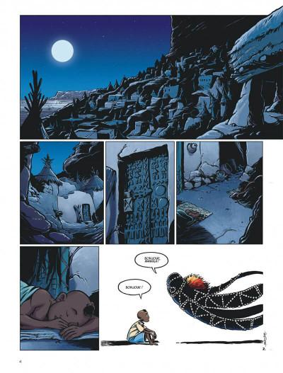 Page 4 le crochet à nuages ; une enquête au pays dogon