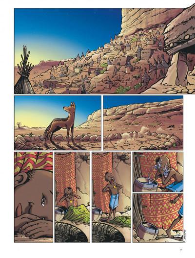 Page 7 le crochet à nuages ; une enquête au pays dogon