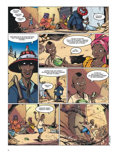 Page 8 le crochet à nuages ; une enquête au pays dogon