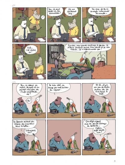 Page 7 Dans mon open space tome 3 - Spéculation et sentiments