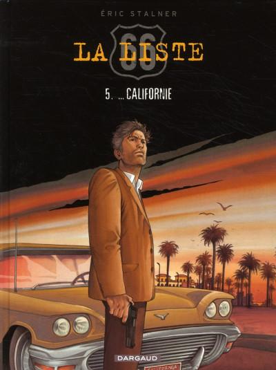 Couverture La liste 66 tome 5 - nouveau-mexique, arizona, californie