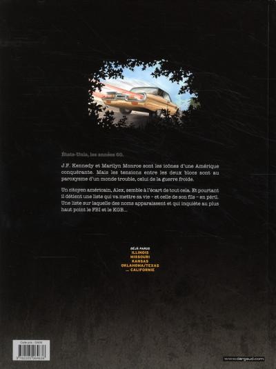 Dos La liste 66 tome 5 - nouveau-mexique, arizona, californie