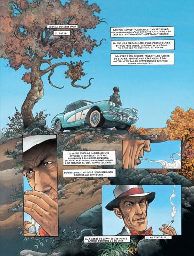 Page 3 La liste 66 tome 5 - nouveau-mexique, arizona, californie