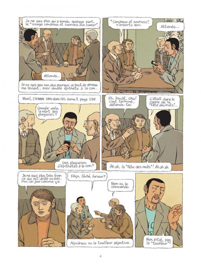 Page 3 Les plumes tome 1