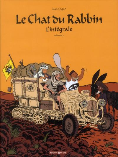 Couverture Le chat du rabbin - intégrale tome 2 - tome 4 et tome 5