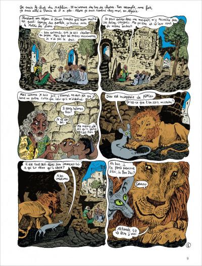 Page 9 Le chat du rabbin - intégrale tome 2 - tome 4 et tome 5