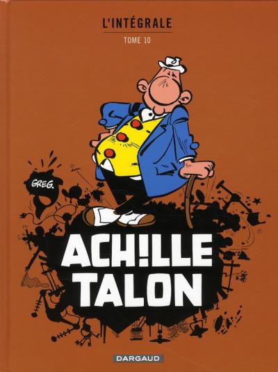 image de Achille talon - intégrale tome 10