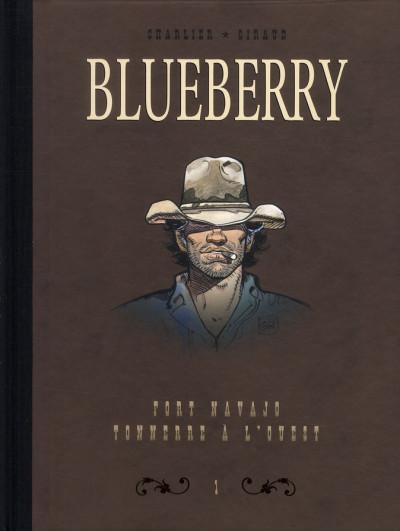 Couverture Blueberry - dyptique tome 1 - fort navajo - tonnerre à l'ouest