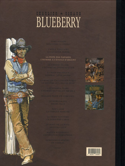 Dos Blueberry - Intégrale tome 3 (tome 5 & tome 6)