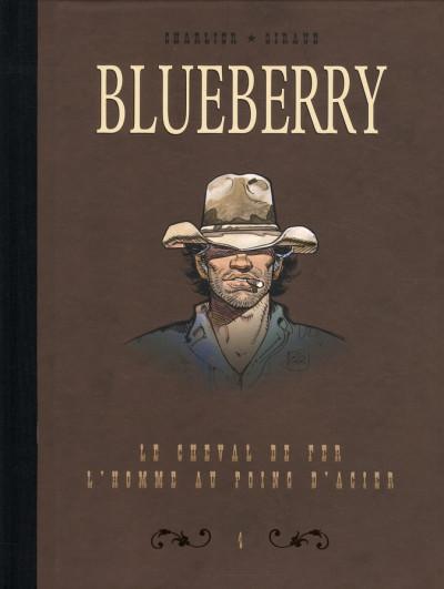 Couverture Blueberry - dyptique tome 4 - le cheval de fer - l'homme aux poings d'acier