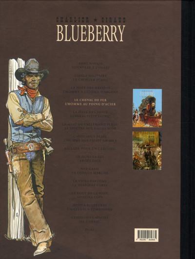 Dos Blueberry - dyptique tome 4 - le cheval de fer - l'homme aux poings d'acier