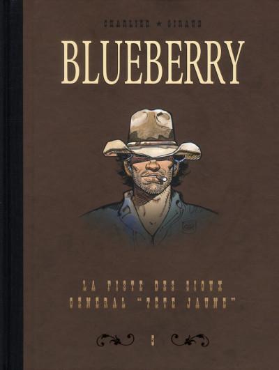 Couverture Blueberry - dyptique tome 5 - la piste des sioux - le général tête jaune