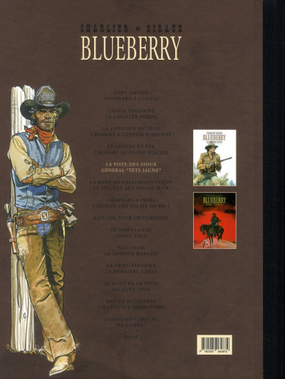 Dos Blueberry - dyptique tome 5 - la piste des sioux - le général tête jaune
