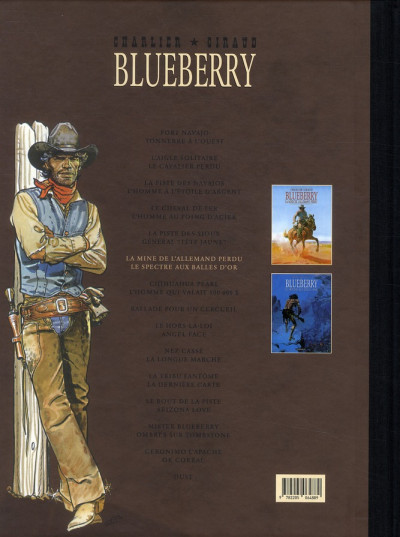 Dos Blueberry - Intégrale tome 6 (tome 11 & tome 12)