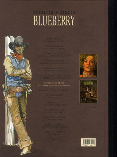 Dos Blueberry - Intégrale tome 7 (tome 13 & tome 14)